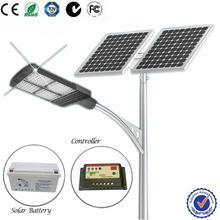 satisfactoria de los precios de la energía solar postes de alumbrado público en guangzhou 84w ip66