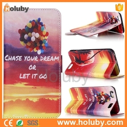 Beautiful fashion design flip wallet cover PU leather cell phone cases and covers for iPhone apple