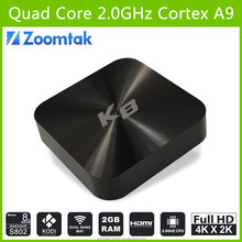Customize Supported!!Quad Core 4K 3D Direct TV Set Top Box With Perfect KODI 14.1,Android Play App Store Download Free,Zoomtak