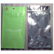 factory custom printed resealable aluminum foil ziplock/zipper packaging bags