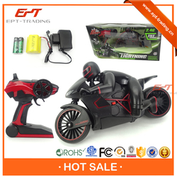 Hot sale kid funny 4CH rc small rechargeable battery toy motorcycle for sale