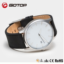 OEM/ODM Gotop Brand Watches for Men,Interchangeable Genuine Leather Strap Watch Create Your Company Logo