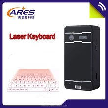 New Arrival Wireless Bluetooth Laser Projector Keyboard Cheapest Wholesale Price for Mobile Phone With Android/IOS
