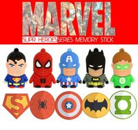 Hot sale promotional,custom,brand Carton captain america usb flash drive 8GB 16GB 32GB Pendrives