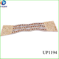 UP1194 indian ladies shoes upper