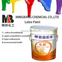waterproof interior wall living room latex paint