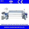 RJW851-190cm double nozzle plain water jet loom textile machinery with electric feeder