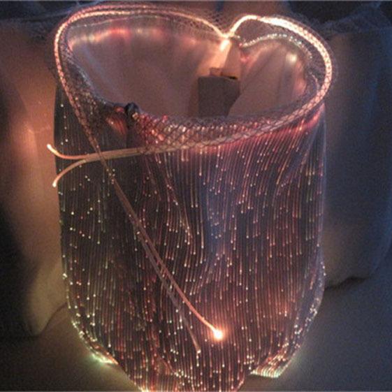 2015 fiber optic decor luminous led lighted up halloween for Fiber optic halloween decorations home