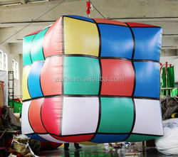2015 Hot-selling cheap inflatable cube tent for decoration