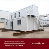 Cost efficient design Luxury prefab villa house with deck patio