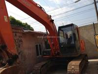 Construction Machinery Used ZX120-6 12 Ton Excavator For Sale