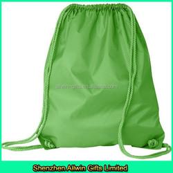 drawstring shopping bag polyester drawstring pouch drawstring sports bag