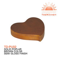 TD-PU02 OEM service heart urn for favourite pet in market