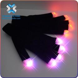 2015 Led Finger Light Up Gloves,led gloves