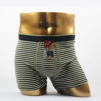 OEM stripe wholesale pictures of men without underwear boxer male underwear