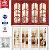 Fiberglass and Wood Sliding Doors, Simple Fashion Door Design