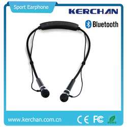 2015 new product Sports Bluetooth earphone portable amplifier headset microphone with magnetic earbuds Microphone
