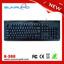 8 Cherry mechanical key switch keyboard wired computer gaming keyboard USB 2.0