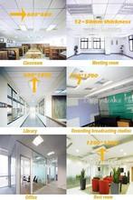 Suspended Acoustic 600x600 Ceiling/ High Qaulity Natural Fiberglass Fiberglass Ceiling Board