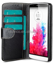 Newly design premium case, wallet Leather case,face cover for LG Optimus G3