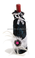 Have a pendant fabric wine cover