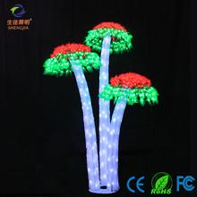 classic halloween decorations artificial mushroom tree light