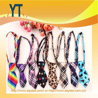 100% Polyester Satin pet tie,nylon adjustable dog neck tie