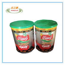570g canned tomato paste with plastic cover