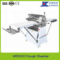 Hot sale stainless steel electric pizza dough sheeter, pizza dough roller for bakery with automatic