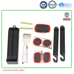 Article No. TP01 plastic box packed easy to take bike tire patch kit