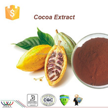 100% natural black cocoa powder / cocoa powder with 40% polyphenols test by UV