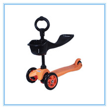 China new products 2014 New design 3 wheels 3 in 1 kids foot scooter
