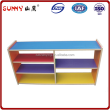 Factory directly supply kids toy shelves on both sides