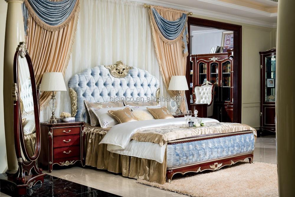 bisini luxury european style bedroom set and bedroom furniture