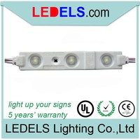 IP65 ,5 YEARS Warranty,Powered by everlight 2835 led,led module light