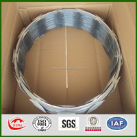 Durable manufacture razor barbed wire concertina