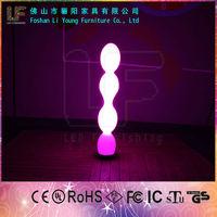 Foshan Furniture Professional Made High Quality Rechargeable LED Floor Lamp , Modern Style Luminous LED Flat Ball Shape Lighting