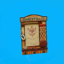 Basketball polyresin photo frame