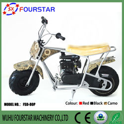 Fashionable CE and EPA approved 80cc mini motorcycle from China for kid