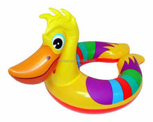 inflatable duck swim ring animal shape baby boat
