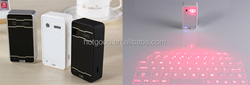 Newest Wireless Bluetooth Laser Projection Virtual Keyboard for PC Tablet Laptop