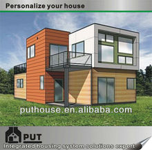 collapsible prefab prefabricated container villa