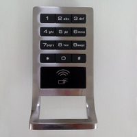 Smart Electronic Lock, Digital Locker Lock, acrylic display case with lock and key