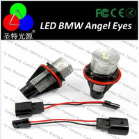 Hottest Sales!!! C ree Chips E90 LED Angel Eyes High Power LED Marker LED Angel Eyes for BMW E90 with high power Color White