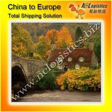 International logistics ship from China to England