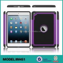 Football design PC+Silicon case for iPad mini 4 ,back cover for iPad mini 4 case