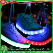 Lights platform shoes flashing LED shoes