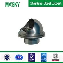 304 de acero inoxidable sistema de ventilación para el hogar