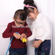 2015 vente chaude petit garçon et filles kid 's pull col haut pull