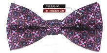 Super quality cheapest custom made cotton bowtie tie